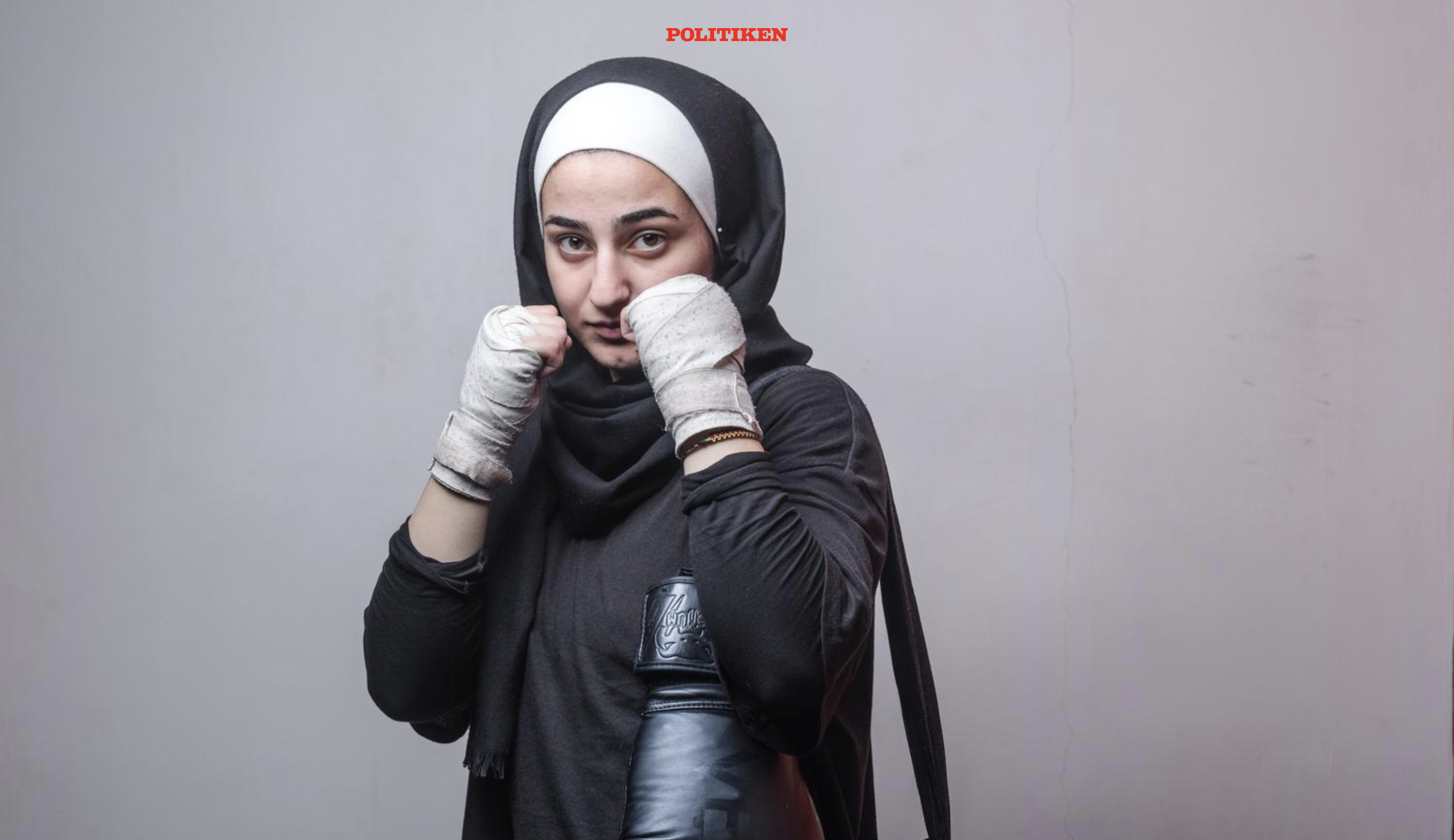Dania Natsheh boxer for the Jordanian National team.